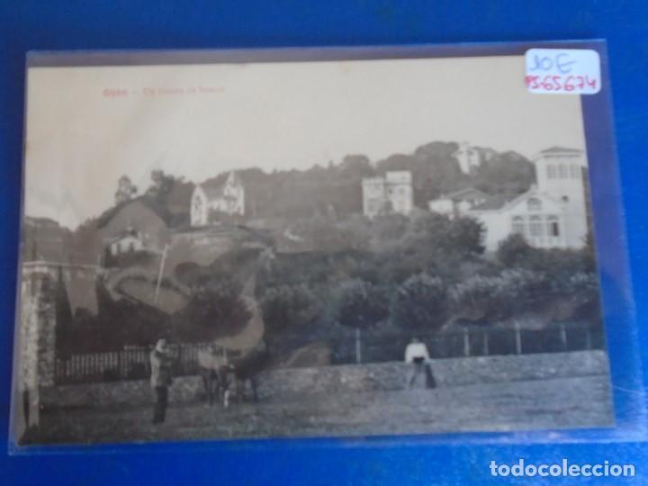 (PS-65674)POSTAL DE GIJON-UN RINCON DE SOMIO.EDICION BENIGNO FERNANDEZ (Postales - España - Asturias Antigua (hasta 1.939))