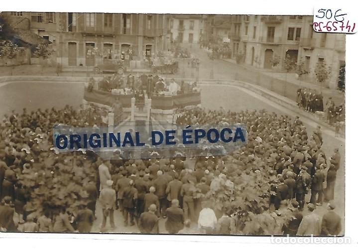 (PS-65741)POSTAL FOTOGRAFICA DE POBLA DE LAVIANA (Postales - España - Asturias Antigua (hasta 1.939))