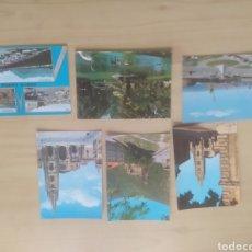 Postales: LOTE DE POSTALES ANTIGUAS DEL NORTE DE ESPAÑA. Lote 269807308