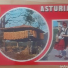 Postales: DIVERSOS ASPECTOS ASTURIAS. Lote 274817408