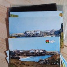 Postales: LLANES / PLAYA PUERTO CHICU / POSTAL , PRUEBAS DE COLOR Y NEGATIVOS / EDI. ALCE Nº 221. Lote 275487168