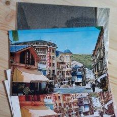 Cartoline: LUARCA / PLAZA PACHORROS / POSTAL PRUEBAS DE COLOR Y NEGATIVOS / EDICION BAZAR QUICO. Lote 275492158