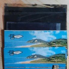 Postales: VILLAVICIOSA / PLAYA DE RODILES / POSTAL , PRUEBA DE COLOR Y NEGATIVOS / EDICIONES PERGAMINO. Lote 276407383
