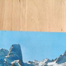 Postales: POSTAL PICOS DE EUROPA. MACIZO CENTRAL. NARANJO DE BULNES. PICO DE URRIELLO. Lote 276674878