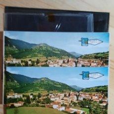 Postales: CANGAS DE ONIS / VISTA / POSTAL , PRUEBA DE COLOR Y NEGATIVOS / EDICIONES PERGAMINO. Lote 276801558