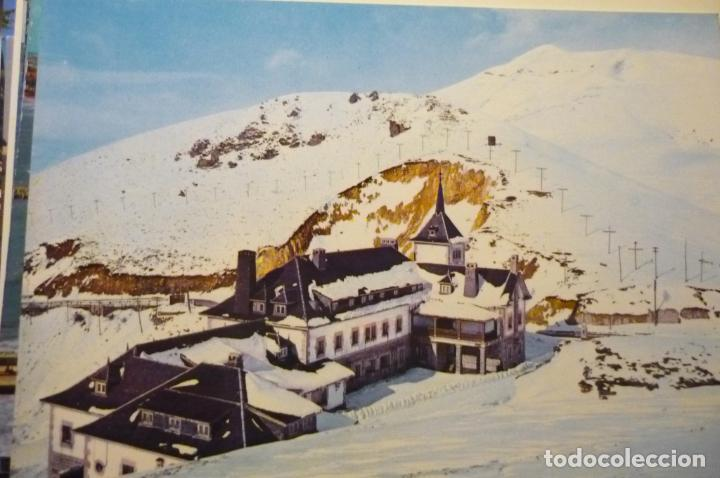 POSTAL PUERTO PAJARES.- PARADOR (Postales - España - Asturias Moderna (desde 1.940))