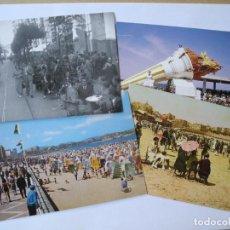 Postales: 4 POSTALES ACTIVIDADES DE OCIO EN GIJÓN. NUEVAS. Lote 277685353