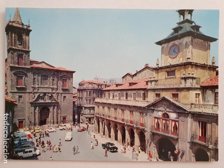 OVIEDO - IGLESIA DE SAN ISIDORO - RENAULT 4 L - LAXC - P57930 (Postales - España - Asturias Moderna (desde 1.940))
