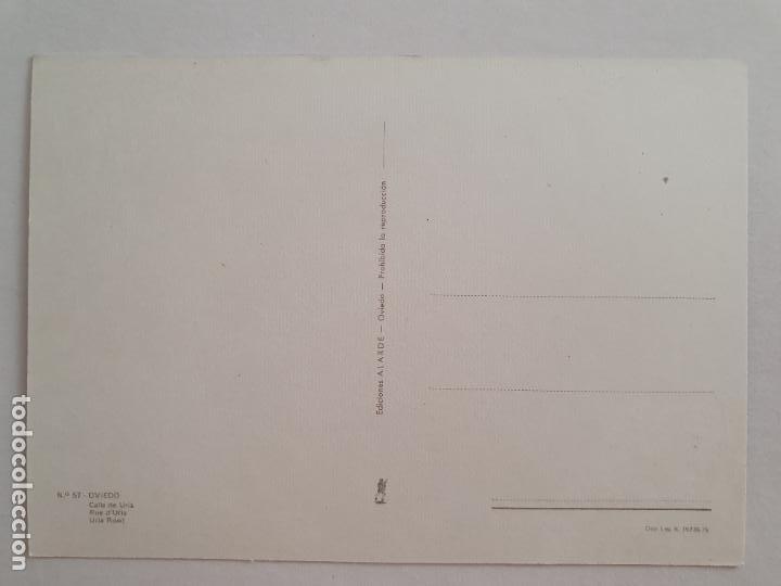 Postales: OVIEDO - CALLE DE URÍA - LAXC - P57931 - Foto 2 - 278295463