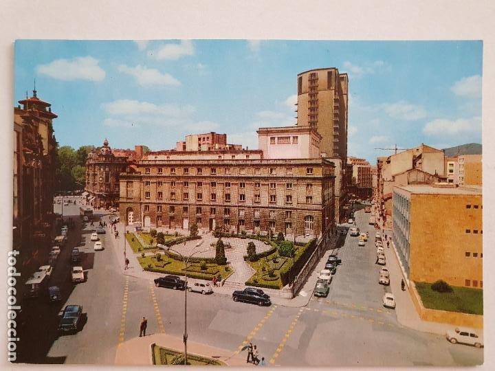OVIEDO - TEATRO CAMPOAMOR Y JARDINES - LAXC - P57938 (Postales - España - Asturias Moderna (desde 1.940))