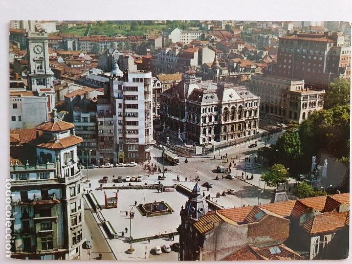 OVIEDO - PLAZA DEL GENERALÍSIMO - LAXC - P57947 (Postales - España - Asturias Moderna (desde 1.940))
