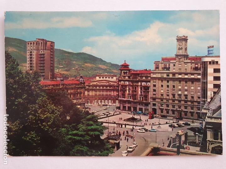 OVIEDO - PLAZA DEL GENERALÍSIMO - LAXC - P57948 (Postales - España - Asturias Moderna (desde 1.940))