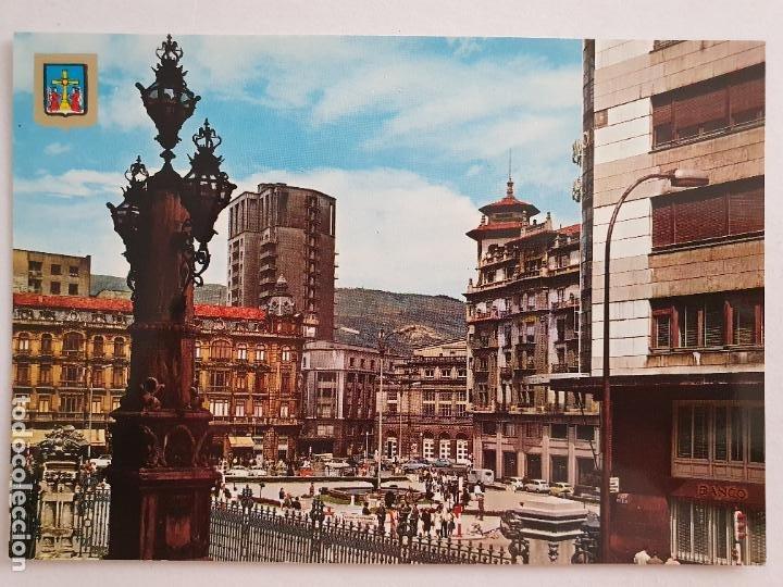 OVIEDO - PLAZA DEL GENERALÍSIMO - LAXC - P57949 (Postales - España - Asturias Moderna (desde 1.940))