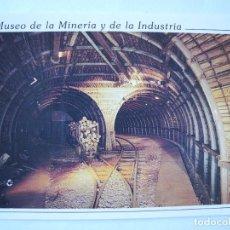 Postales: MUSEO DE LA MINERÍA Y DE LA INDUSTRIA. GALERÍA PRINCIPAL. EL ENTREGO. NUEVA.. Lote 278320488