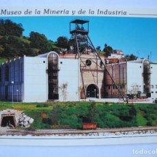 Postales: MUSEO DE LA MINERÍA Y DE LA INDUSTRIA. EL ENTREGO ASTURIAS. NUEVA.. Lote 278321008