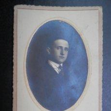 Postales: GIJÓN ASTURIAS FOTO POSTAL FOTÓGRAFO F. VILLANUEVA AÑO 1921. Lote 278378333