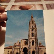 Postales: POSTAL LA CATEDRAL OVIEDO. Lote 278433318
