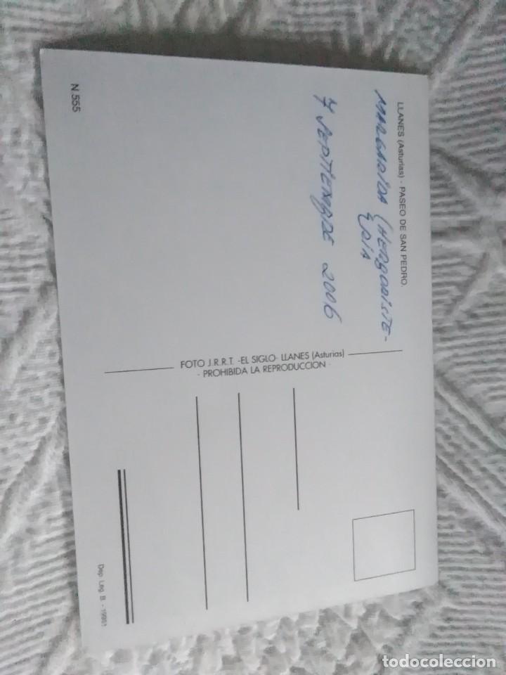 Postales: Postal de Asturias llanes paseo de san pedro - Foto 2 - 278458578