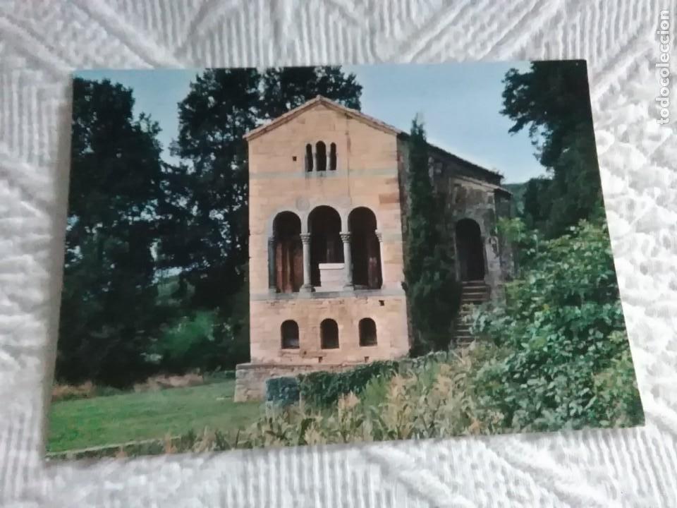 POSTAL DE ASTURIAS OVIEDO SANTA MARIA DEL NARANCO (Postales - España - Asturias Moderna (desde 1.940))