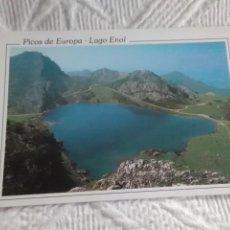 Postales: POSTAL DE ASTURIAS PICOS DE EUROPA LAGO ENOL. Lote 278459168