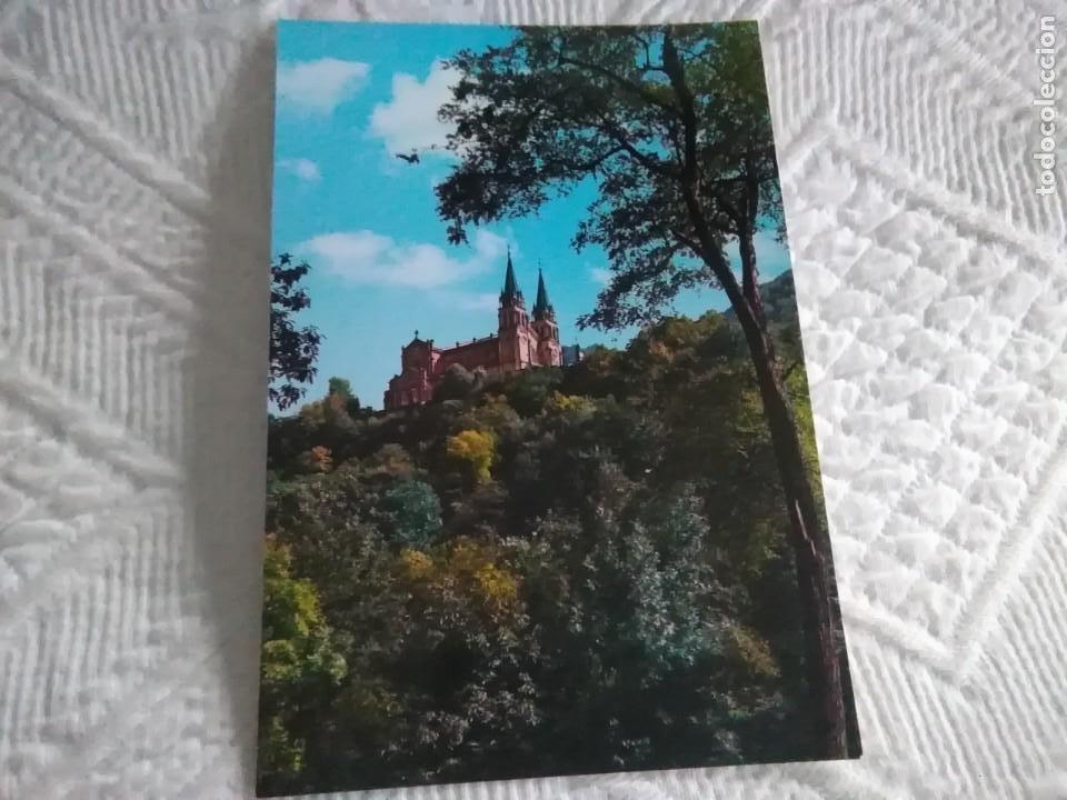 POSTAL DE ASTURIAS COVADONGA, LA BASILICA (Postales - España - Asturias Moderna (desde 1.940))