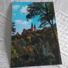 Postales: POSTAL DE ASTURIAS COVADONGA, LA BASILICA. Lote 278505288