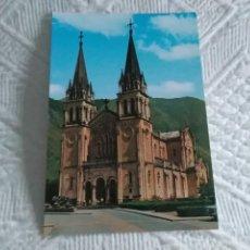 Postales: POSTAL DE ASTURIAS COVADONGA, LA BASILICA. Lote 278505473