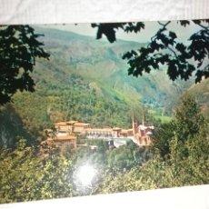 Postales: POSTAL DE ASTURIAS COVADONGA VISTA GENERAL. Lote 278506263