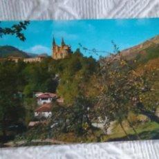 Postales: POSTAL DE ASTURIAS COVADONGA VISTA GENERAL. Lote 278506913