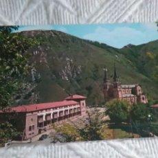 Postales: POSTAL DE ASTURIAS COVADONGA LA BASÍLICA. Lote 278513043