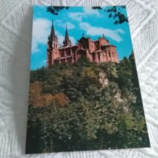 Postales: POSTAL DE ASTURIAS COVADONGA LA BASÍLICA. Lote 278516058