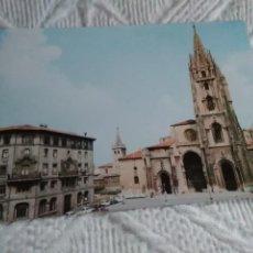 Postales: POSTAL DE ASTURIAS LA CATEDRAL. Lote 278516398