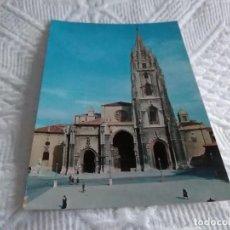 Postales: POSTAL DE ASTURIAS LA CATEDRAL. Lote 278516613