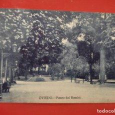 Postales: OVIEDO PASEO DEL BAMBE JOSE R FDEZ S/Nº SC ANIMADA. Lote 278558068