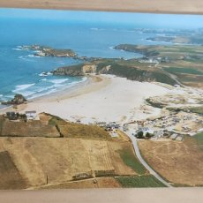 Postales: POSTAL N.1. BARRES-CASTROPOL. PLAYA PEÑARRONDA (CAMPING). 1991. Lote 278629673