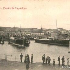 Postales: EA128 GIJON - MUELLE DE LIQUERIQUE - RM Nº9 - BARCOS. Lote 278868558
