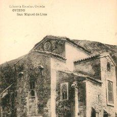 Postales: EA129 OVIEDO - SAN MIGUEL DE LINO - HAUSER Y MENET. Lote 278868598