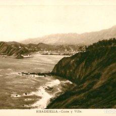 Postales: EA140 RIBADESELLA - COSTA Y VILLA - FOURNIER. Lote 278869263