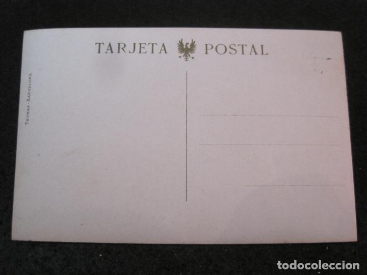 Postales: GIJON-PUENTE DE LA GUIA-FOTOGRAFICA THOMAS-POSTAL ANTIGUA-(82.750) - Foto 3 - 282257993
