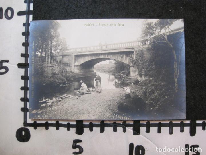 Postales: GIJON-PUENTE DE LA GUIA-FOTOGRAFICA THOMAS-POSTAL ANTIGUA-(82.750) - Foto 4 - 282257993
