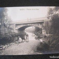 Postales: GIJON-PUENTE DE LA GUIA-FOTOGRAFICA THOMAS-POSTAL ANTIGUA-(82.750). Lote 282257993