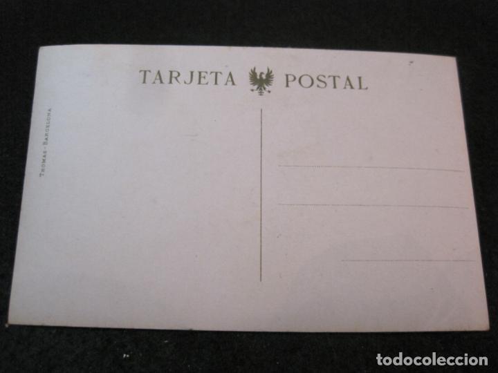 Postales: GIJON-CALLE DE LOS MOROS-FOTOGRAFICA THOMAS-POSTAL ANTIGUA-(82.751) - Foto 3 - 282258028