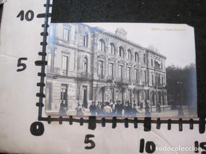 Postales: GIJON-TEATRO DINDURRA-FOTOGRAFICA THOMAS-POSTAL ANTIGUA-(82.752) - Foto 4 - 282258078