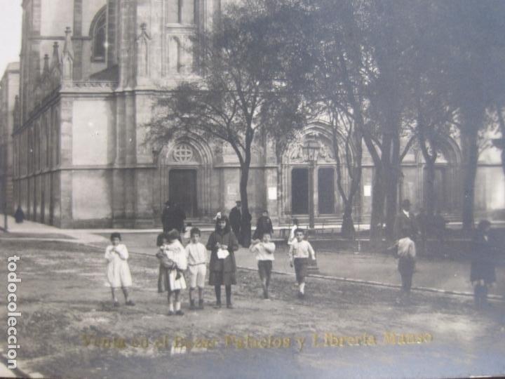Postales: GIJON-IGLESIA DE SAN LORENZO-FOTOGRAFICA THOMAS-POSTAL ANTIGUA-(82.753) - Foto 2 - 282258123