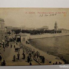 Postales: POSTAL DE GIJON DEL AÑO 1919.NUEVA. Lote 282553133