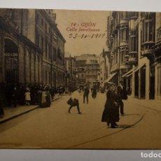 Postales: POSTAL DE GIJON DEL AÑO 1919.NUEVA. Lote 282553238
