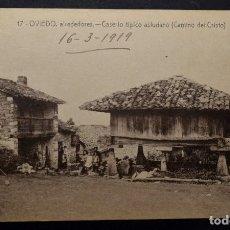 Postales: POSTAL DE OVIEDO DEL AÑO 1919.NUEVA. Lote 282574603