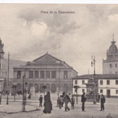 Cartoline: OVIEDO, PLAZA DE LA ESCANDALERA. ED. E.F. Nº 7. SIN CIRCULAR. Lote 285531983