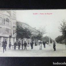 Postales: GIJON ASTURIAS PASEO DE BEGOÑA. Lote 286433898