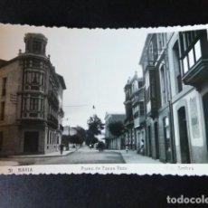Postales: NAVIA ASTURIAS PASEO DE BUENA VISTA. Lote 286434743